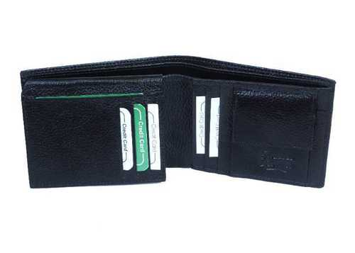 Mens Black Leather Wallets