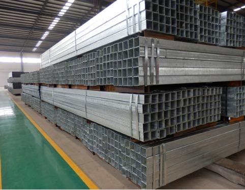 Hot-Dip Galvanized Rectangular Steel Pipe