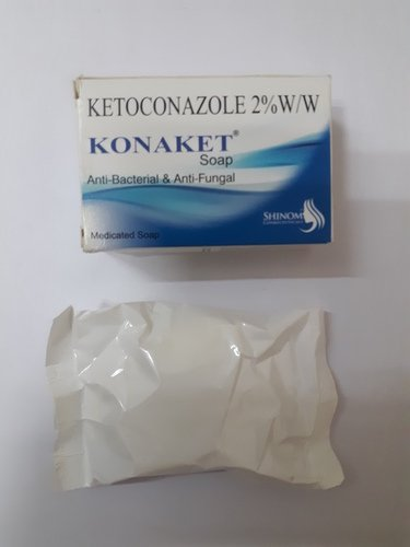 Anti Bacterial And Anti Fungal Ketoconazole 2% Medicated Soap