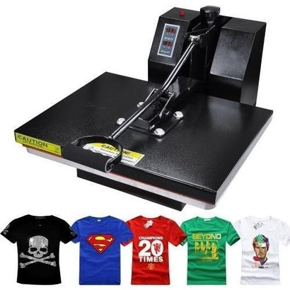 Automatic Rust Resistant T Shirts Printing Machine