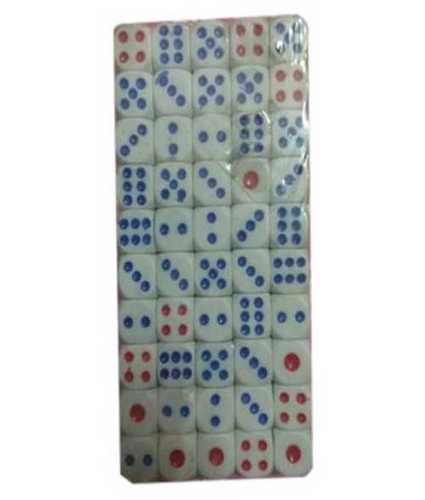 Abs White Gaming Plastic Dice