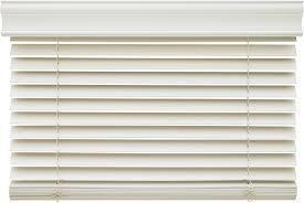 White Horizontal Window Blinds