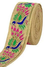 Designer Zari Border Laces