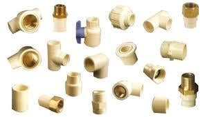 Industrial CPVC Pipe Fittings