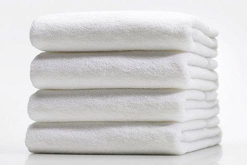Hospital White Hand Towel
