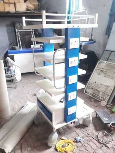 Multi Storied Medical Equipment Trolley