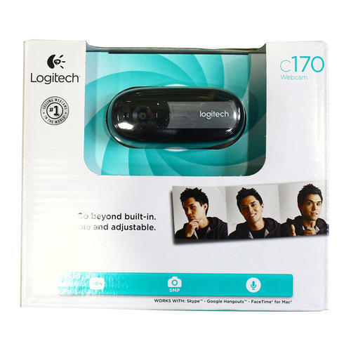 Black Portable Webcam