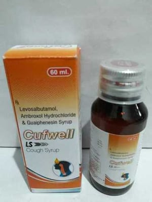Cufwell LS Cough Syrup 60ml