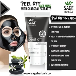 Charcoal Peel -Off Face Mask