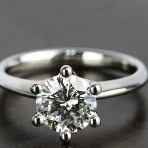 Natural Solitaire Diamond Ring