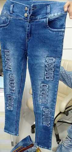 Easily Washable Denim Girls Jeans Certifications: No, Price 500 INR/Piece    ID: 5749164