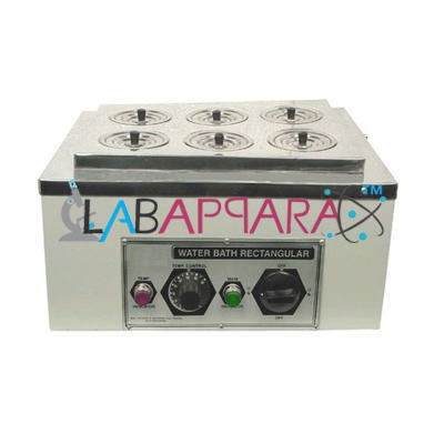 Water Bath Rectangular (Single Wall) Labappara