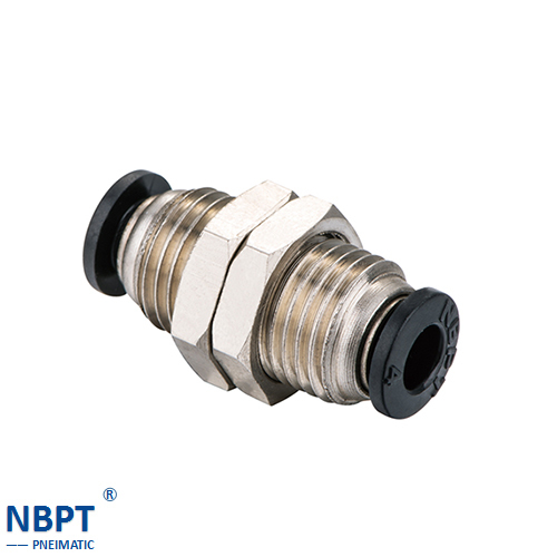 High Quality Nbpt Brass Fitting With Bulkhead