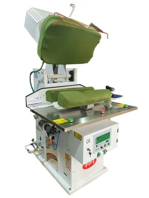 Jacket Left and Right Collar Rounding press (Double Lapel Press) AG-126