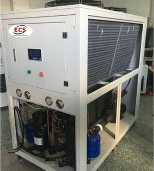 15 TR Air Cooled Scroll Chiller