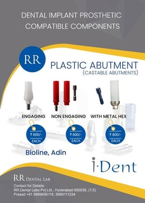Castable Abutment With Metal Hex