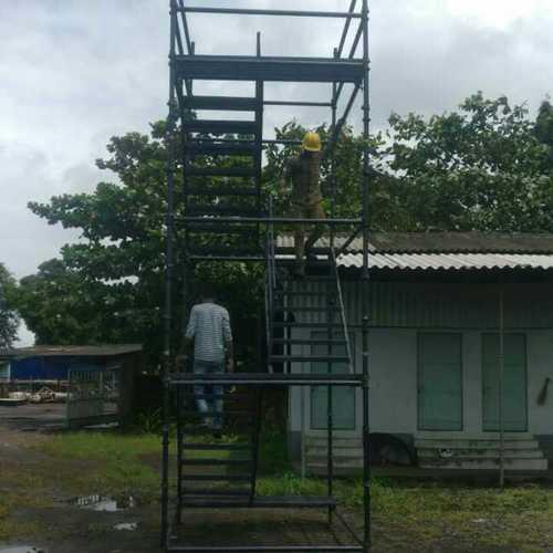 Metal Body Scaffolding Staircase