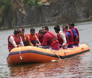 Fine Finished Inflatable Rafting Boat