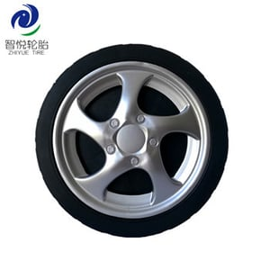 PVC Plastic Wheel (8 Inch) For BBQ Grill Ice Cooler
