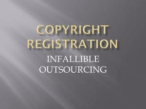 Registration Of Copyright In Lko Services