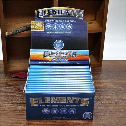 (Elements) Ultra Thin Rice Papers Size: 110Mm X 44Mm