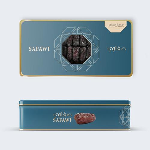Saudi Dry Chocolate Dates