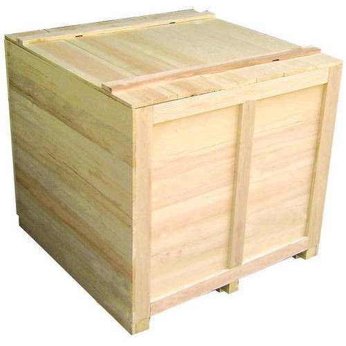 Brown Wooden Packing Boxes Eco Friendly