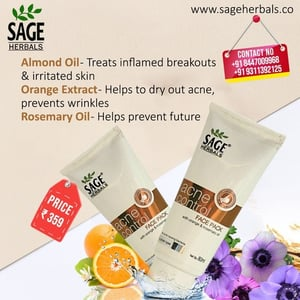 Sage Herbals Acne Control Face Pack