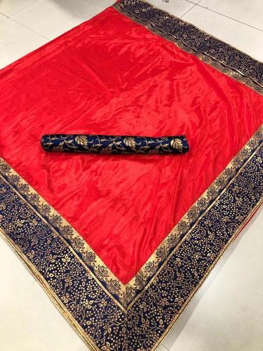Superb Sana Silk Saree With Jacquard Border