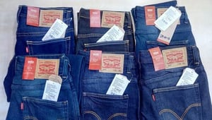 Branded Jeans with Bill for Resale