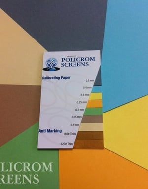 Colorful Package Calibrated Paper
