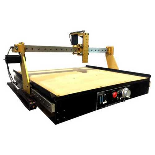 Yellow Fully Automatic Cnc Router