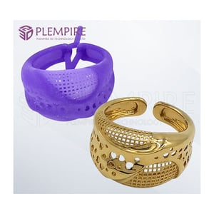 3D Jewellery Printed Wax For Project MJP Non-toxic