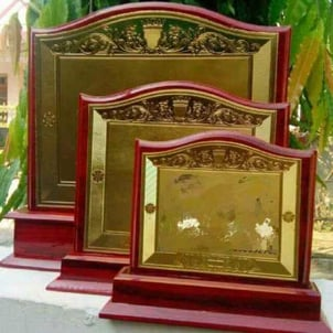 Customized MDF Wood Trophies