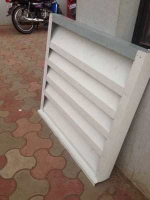 Galvanized Colour Coated Steel Louvers
