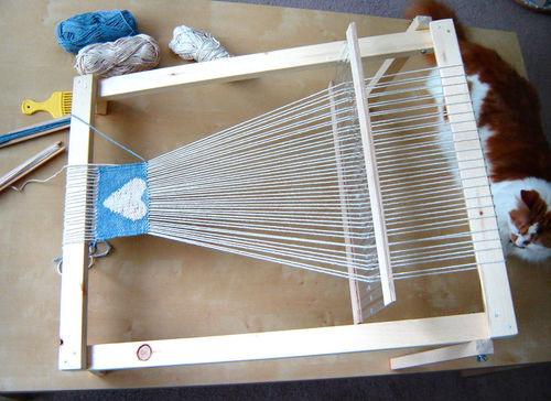 Loom Frame For Weaving