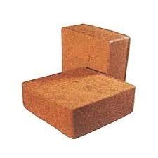 Brown Square Coco Peat Brick