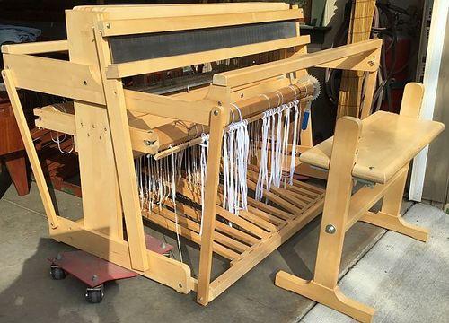 Wooden Shuttle Hand Loom