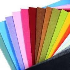 Color Non Woven Polyester Felt