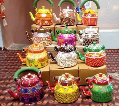 Hand Painted Tea Kettles