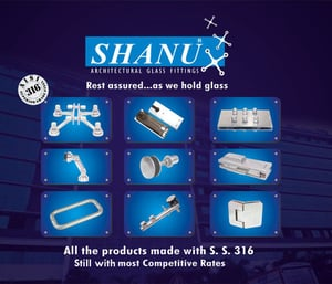 Shanu - Architectural Glass Fittings