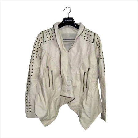 Fashionable Ladies Leather Jackets