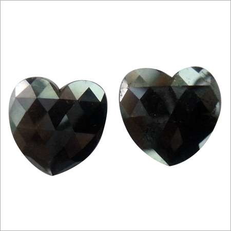 Heart Shaped Black Diamond