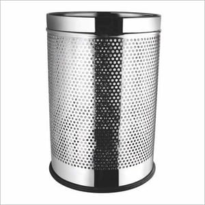 Perforated Waste Paper Basket