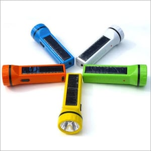 Nano Solar LED Rechargeable Torch