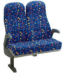 PU Moulded Bus Seat