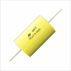 Axial Polyester Film Capacitor