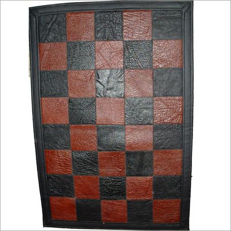 Designer Leather Rugs