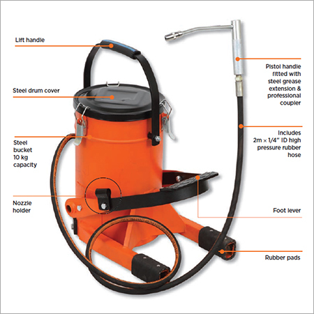 Foot Operated Grease Pump