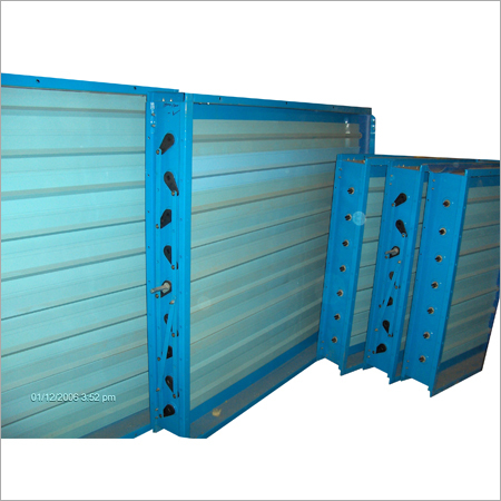 Aluminium Extruded Air Dampers